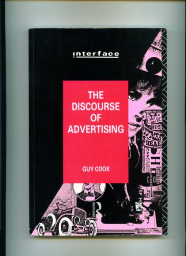 Discourse of Advertising by Guy Cook