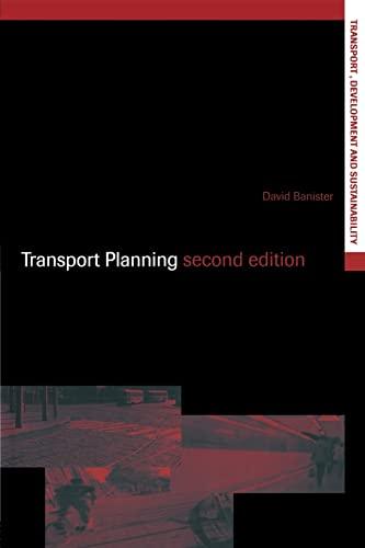 Transport Planning by David Banister