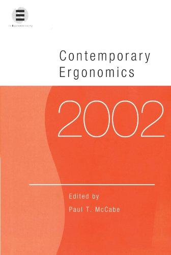 Contemporary Ergonomics 2002: 2002 by P. T. McCabe