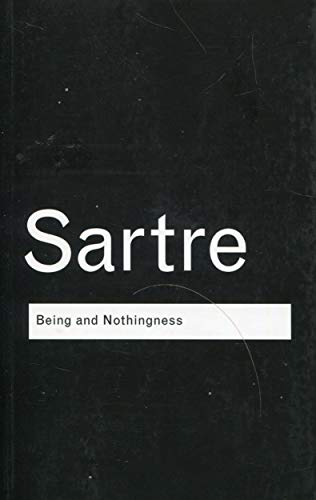 Being and Nothingness: An Essay on Phenomenological Ontology by Jean-Paul Sartre