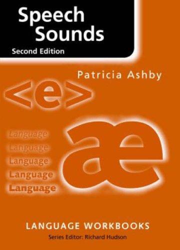Speech Sounds by Patricia Ashby