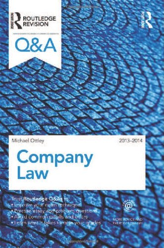 Q&A Company Law 2013-2014: 2013-2014 by Mike Ottley