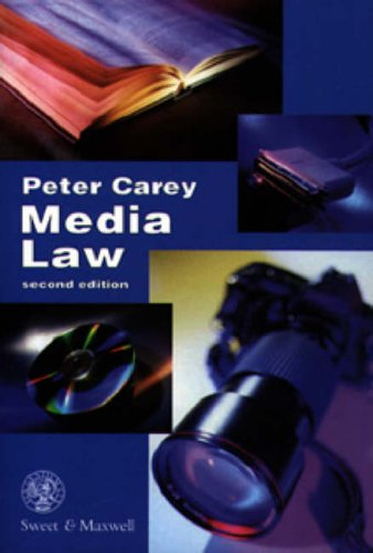 Media Law by P. Carey