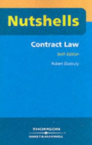 Contract Law by Robert Duxbury