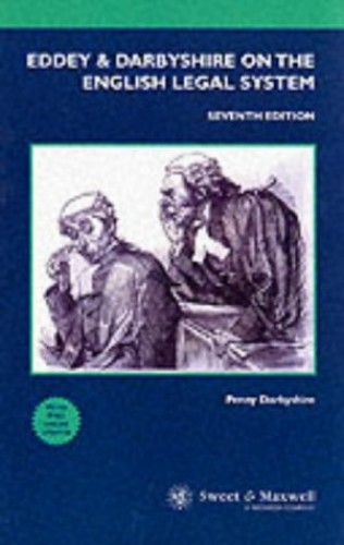 Eddey and Darbyshire on the English Legal System by Penny Darbyshire