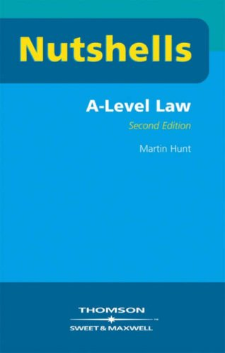 Nutshells A Level Law by Martin Hunt