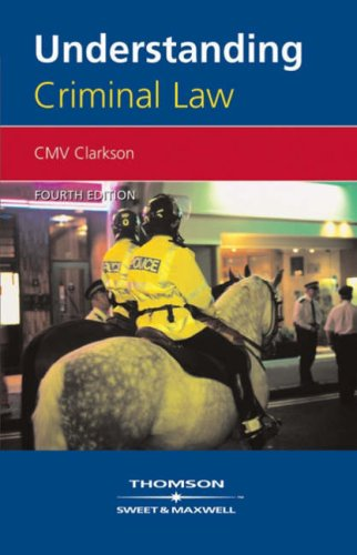 Understanding Criminal Law by C.M.V. Clarkson