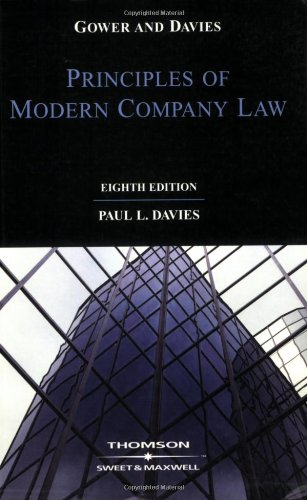 Gower & Davies: The Principles of Modern Company Law by Paul L. Davies