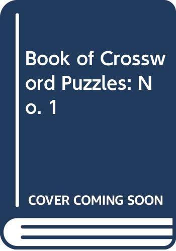 Book of Crossword Puzzles: No. 1 by Norman Sullivan