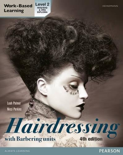 L2 Diploma in Hairdressing Candidate Handbook (including Barbering Units) by Leah Palmer
