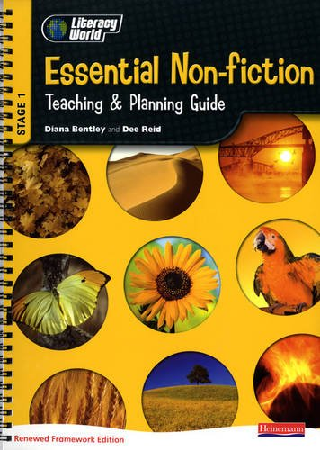 Literacy World Stage 1: Essential Non-Fiction Teaching & Planning Guide Framework England/Wales by