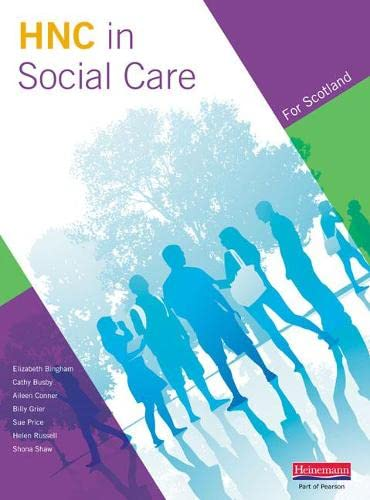Higher National Certificate in Social Care Student Book by Aileen Connor