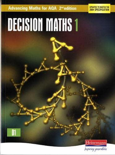 Advancing Maths for AQA: Decision 1 by