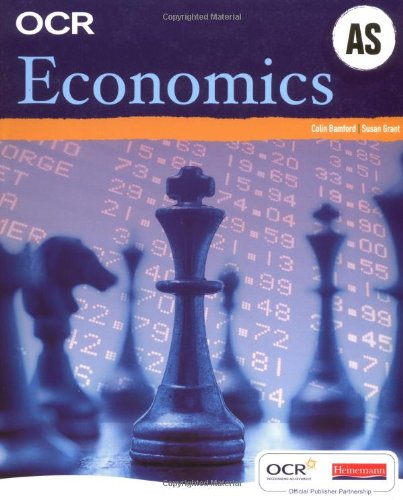 OCR A Level Economics Student Book (AS) by