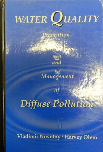 Water Quality: Prevention, Identification and Management of Diffuse Pollution by Vladimir Novotny
