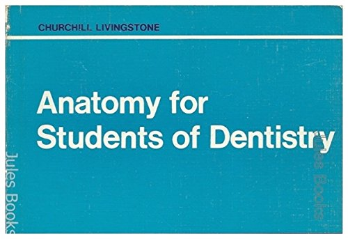Anatomy for Students of Dentistry by James Henderson Scott