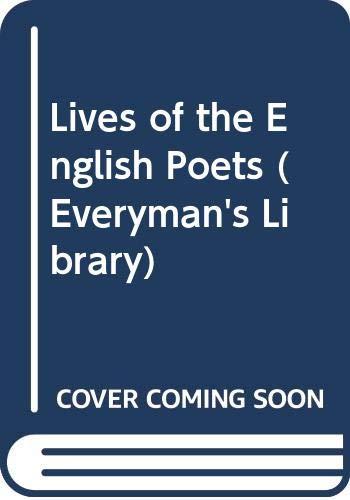 Lives of the English Poets: v. 1 (Everyman