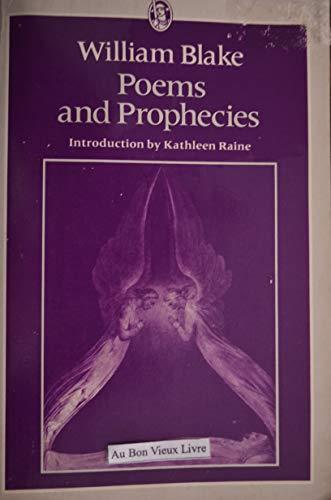 Poems and Prophecies (Everyman