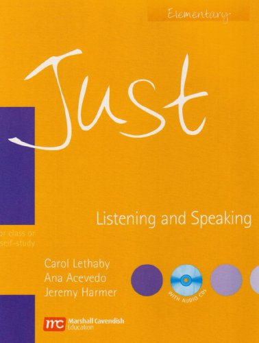 Just Listening and Speaking Elementary by Carol Lethaby