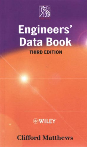 IMechE Engineers' Data Book by Dr. Clifford Matthews