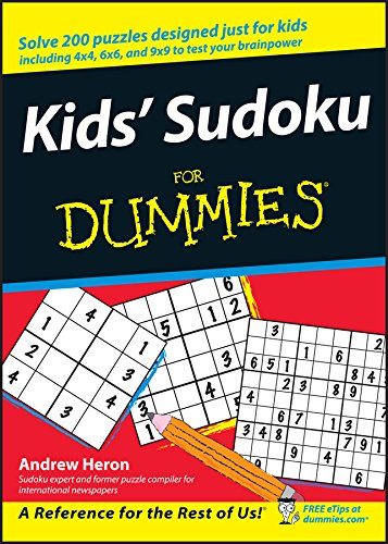Kids' Sudoku for Dummies by Andrew Heron