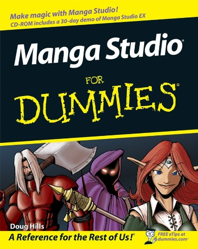 Manga Studio For Dummies by Michael Rhodes
