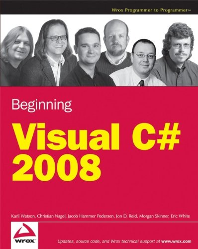 Beginning Microsoft Visual C# 2008 by Karli Watson
