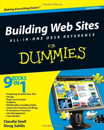 Building Web Sites All-in-one For Dummies by Claudia Snell