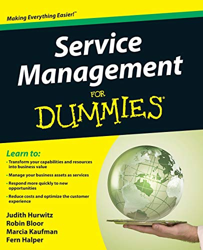 Service Management For Dummies by Judith Hurwitz