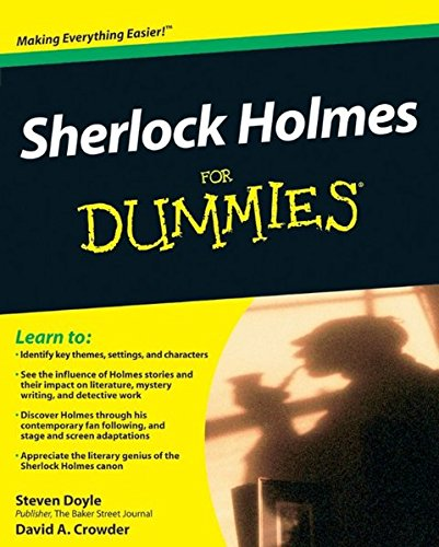 Sherlock Holmes For Dummies by Steven Doyle