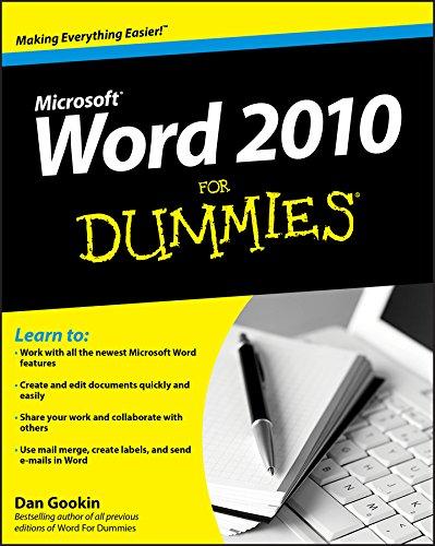 Word 2010 for Dummies by Dan Gookin