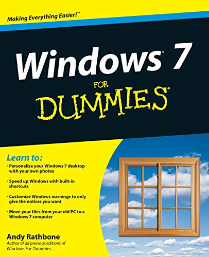 Windows 7 for Dummies by Andy Rathbone