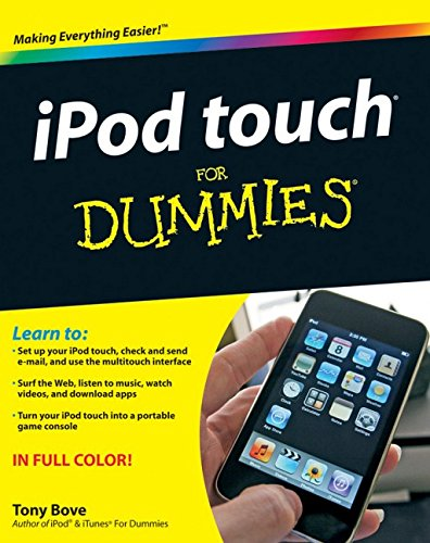 iPod Touch for Dummies by Tony Bove