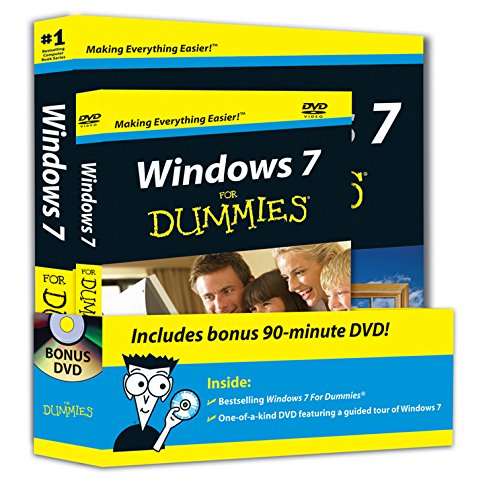 Windows 7 For Dummies Book and DVD Bundle by Andy Rathbone