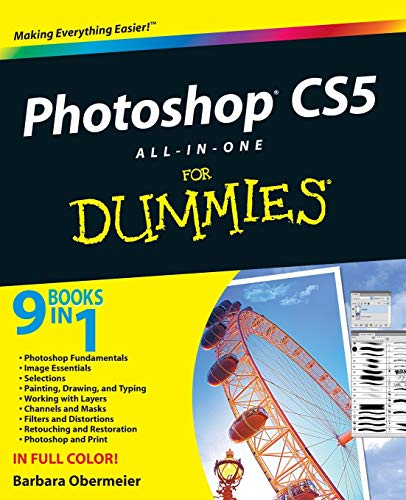 Photoshop CS5 All-in-one For Dummies by Barbara Obermeier