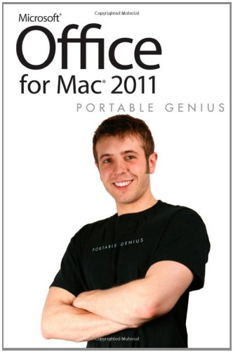 Office for Mac 2011 Portable Genius by Dwight Spivey