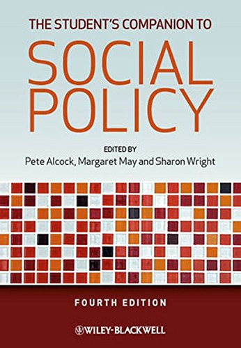 The Student's Companion to Social Policy by Pete Alcock