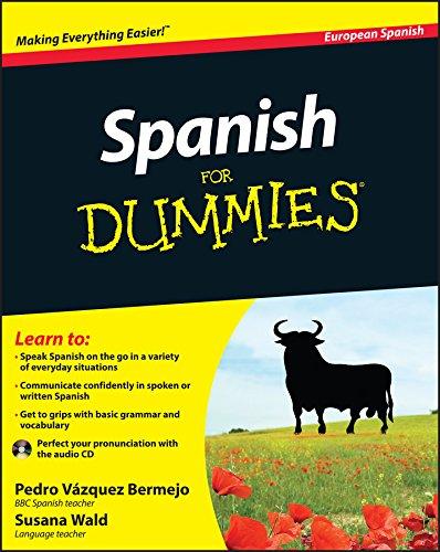 Spanish For Dummies by Pedro Vazquez Bermejo
