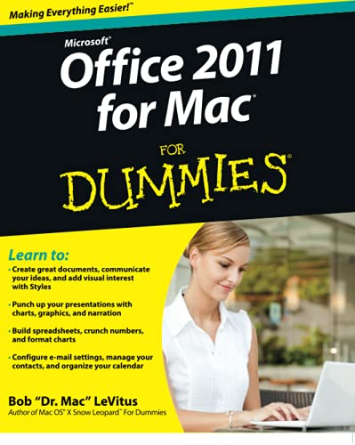 Office 2011 for Mac For Dummies by Bob LeVitus