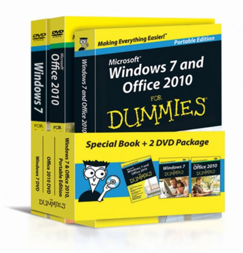 Windows 7 and Office 2010 For Dummies by Andy Rathbone
