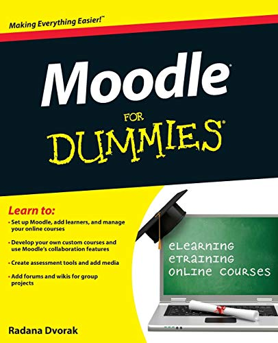 Moodle For Dummies by Radana Dvorak