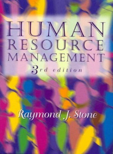 stone raymond j 2008 human resources management 6th edn john wiley sons australia ltd Items where year is 2010 clement, mathew, miles, john j 2010 conference, 13-16 july 2010, townsville, qld, australia campello, rjg.