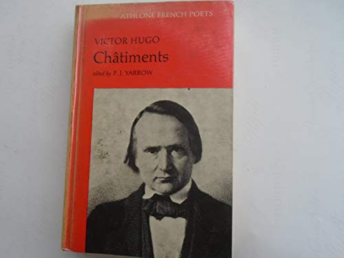 Chatiments (Athlone French poets)