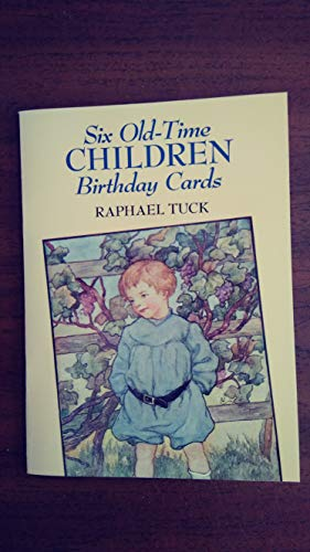 Six Old-Time Children Birthday Cards by Rachael Tuck