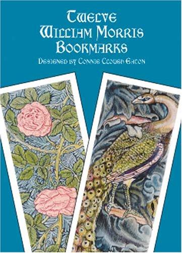 Twelve William Morris Bookmarks by Morris