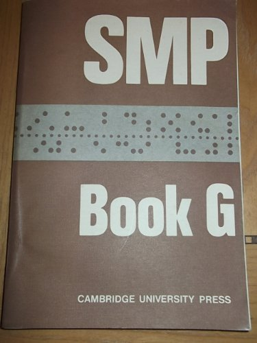 SMP Book G: Bk. G by School Mathematics Project