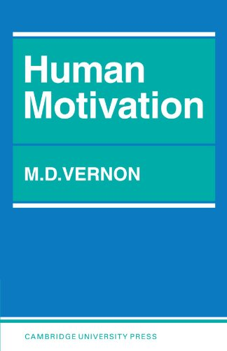 Human Motivation by Magdalen D. Vernon