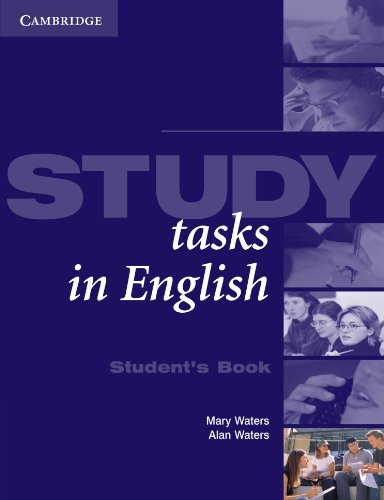 Study Tasks in English Student's Book by Mary Waters