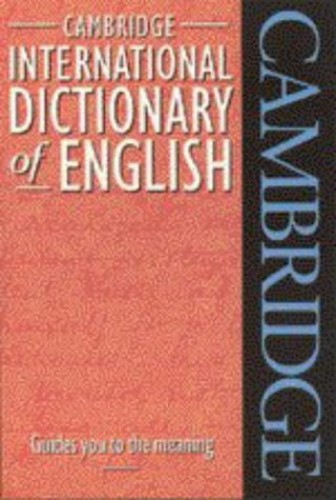 Cambridge International Dictionary of English Flexicover by Paul Procter