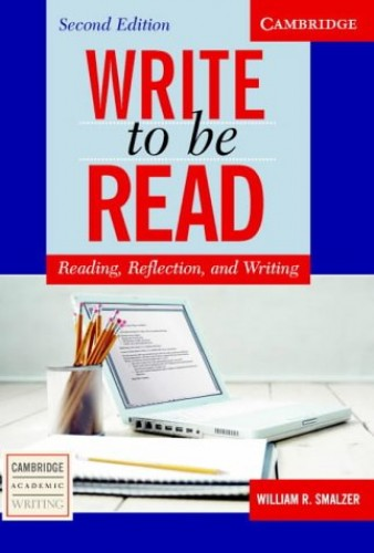 Write to be Read by William R. Smalzer